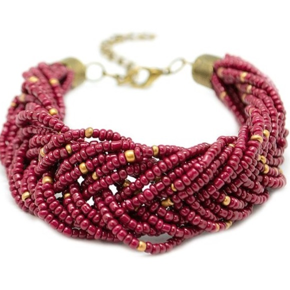 Paparazzi jewelry firm price red seed bead bracelet for Paparazzi jewelry wholesale prices